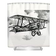 Sopwith F.1 Camel 1917 Shower Curtain