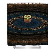 Sorcerer's Wheel Shower Curtain
