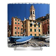 Sori - Seafront Shower Curtain