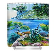Sormious Cove Shower Curtain