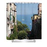 Sorrento Views Shower Curtain