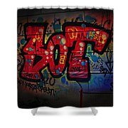 Sot Graffiti - Lisbon Shower Curtain
