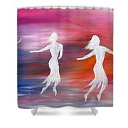Soul Dance  Shower Curtain