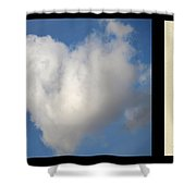 Soul Mate With Poetry Shower Curtain