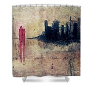 Soul Mates Reunited Shower Curtain