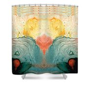 Soul Star - Abstract Art By Sharon Cummings Shower Curtain