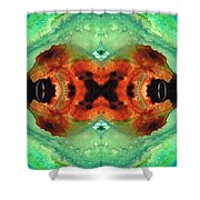 Soul Symphony - Abstract Art By Sharon Cummings Shower Curtain