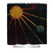 Soular System Shower Curtain
