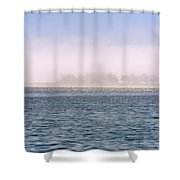 Soulscape Bodega Bay Iridescence Shower Curtain