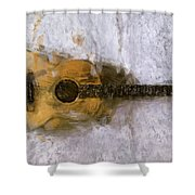 Sound Of Canvas II Shower Curtain