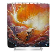 Sound Of Heaven Shower Curtain