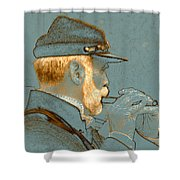 Sounds Of The Civil War Shower Curtain