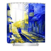 South American Sunrise Shower Curtain