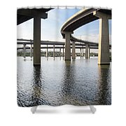 South Baltimore Bypass Shower Curtain