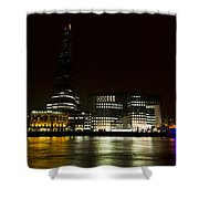South Bank London Shower Curtain