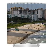 South Beach Afternoon Shower Curtain