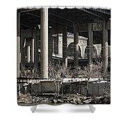 South Bronx Shanty Shacks - New York Shower Curtain