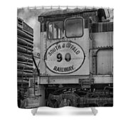 South Buffalo Railway  7d06191b Shower Curtain