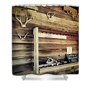 South Carolina Hunting Cabin Shower Curtain