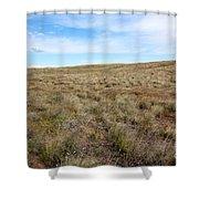South-central Washington Grassland Shower Curtain