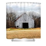 South County Barn Shower Curtain