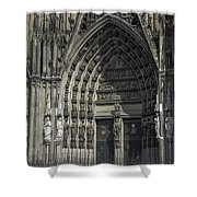 South Entrance Cologne Cathedral Shower Curtain