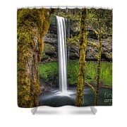 South Falls Silver Falls State Park Shower Curtain