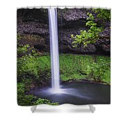 South Falls - Silver Falls State Park - Oregon Shower Curtain
