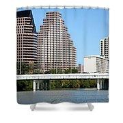 South First Street Bridge Shower Curtain