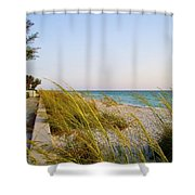 South Florida Living Shower Curtain