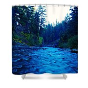 South Fork Of The Tieton  Shower Curtain