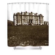 South Hall Which Housed The College Of Science University Of Cal Circa 1904 Shower Curtain