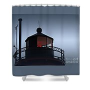 South Haven Light Shower Curtain