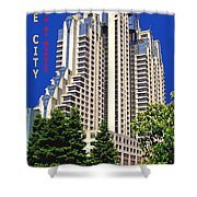 South Of Market San Francisco Shower Curtain