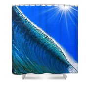 South Pacific Gem Shower Curtain