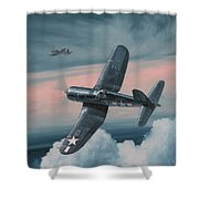 South Pacific Hot Rods Shower Curtain by Wade Meyers