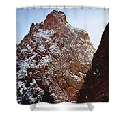 210855-south Pillar Of Hercules, Co Shower Curtain