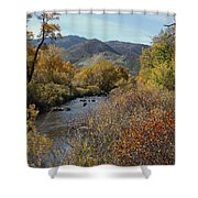 South Platte Shower Curtain