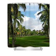 South Pointe Park Field Shower Curtain