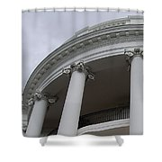 South Portico Of The White House Shower Curtain