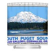 South Puget Sound Shower Curtain