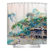 South Sea Home Shower Curtain