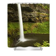 South Silver Falls 3 Shower Curtain