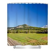 South Sister And Highway Shower Curtain