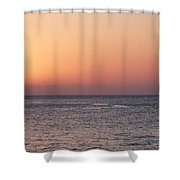 South Sound Sunset Shower Curtain