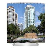South Straub Park St Petersburg Florida Shower Curtain