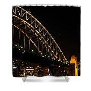 South Sydney Harbour Bridge Shower Curtain