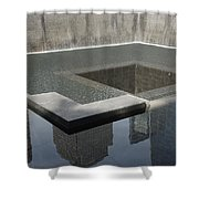 South Tower Pool Shower Curtain