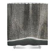 South Tower Rain Shower Curtain