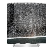 South Tower Water Shower Curtain